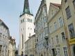 La antigua ciudad medieval de Tallin