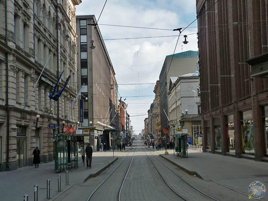 Calles comerciales de Helsinki