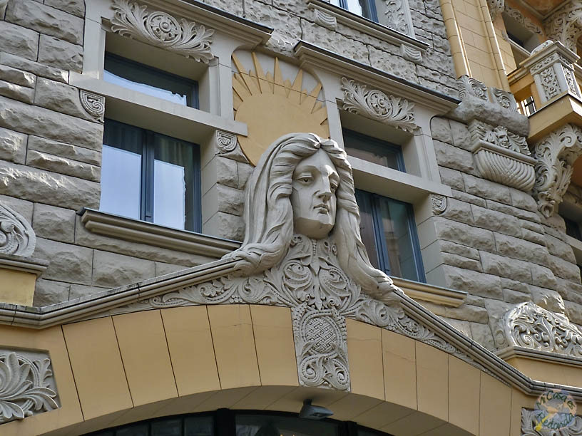 Comenzamos la ruta el Art Nouveau, Riga