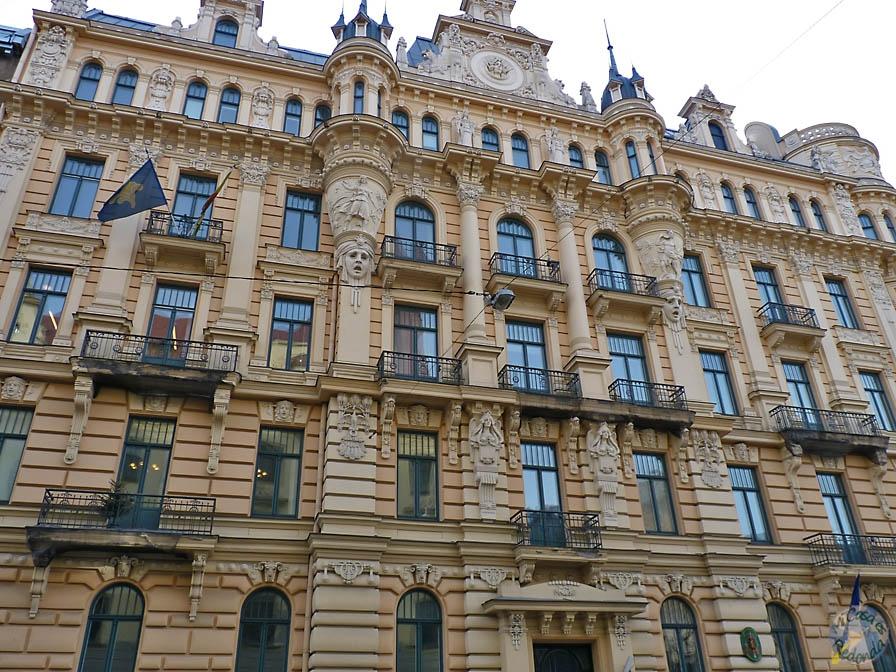 Art Nouveau en su máximo esplendor, Riga