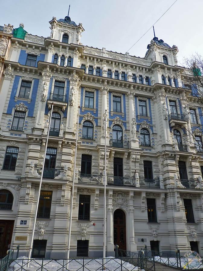 Bonita fachada, Riga