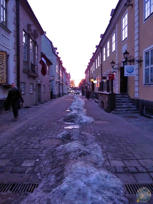 Sigue la senda de... hielo