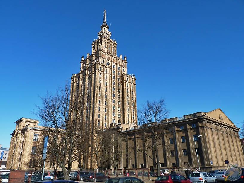 Academia de las ciencias, Riga