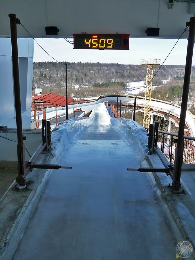 Nos lanzamos al bobsleigh? Sigulda