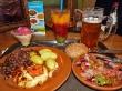 Comida en el Lido, Riga