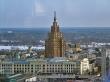 La Academia de las Ciencas desde el Skyline Bar, Riga