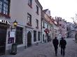Paseando al atardecer, Riga