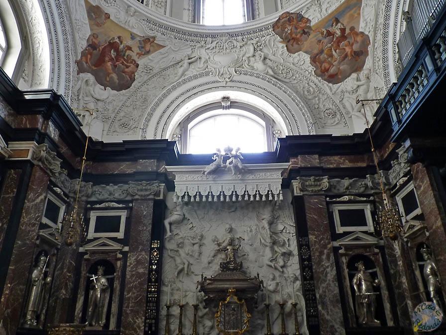 Interior de la catedral, Vilnius