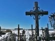 La campiña helada desde la Colina de las Cruces
