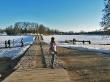 Atardeciendo, Trakai
