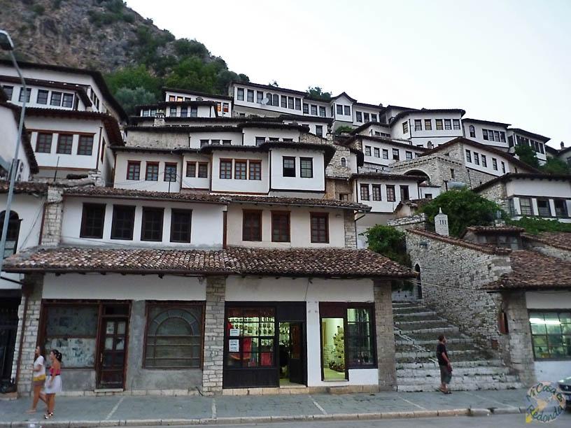El pintoresco centro de Berat