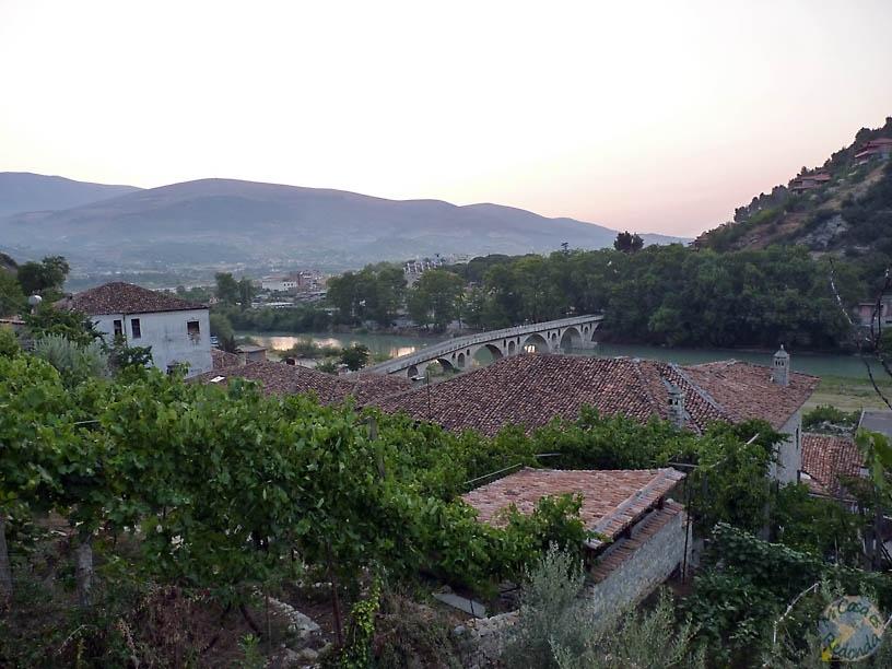Vistas de Berat desde el hostel