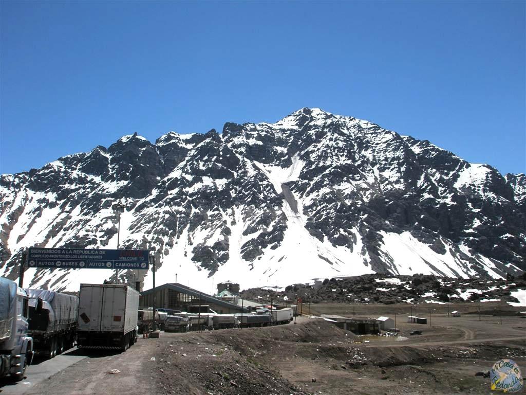 Llegando a la frontera con Chile, desde Mendoza