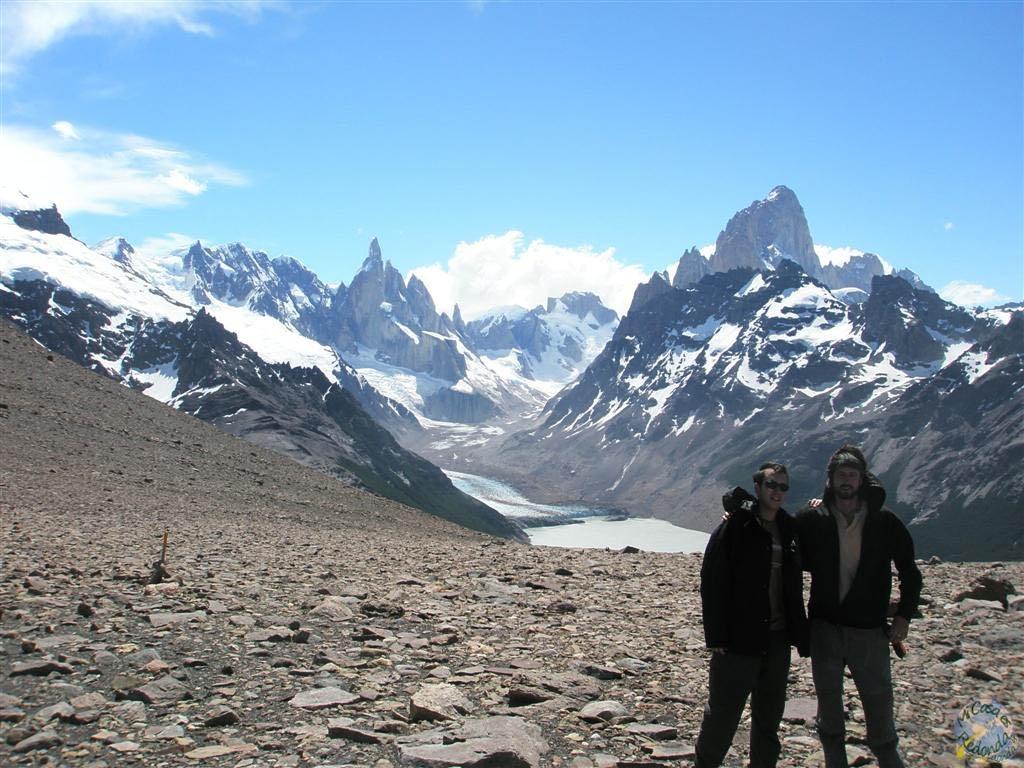 Trekking cerca del Chaltén