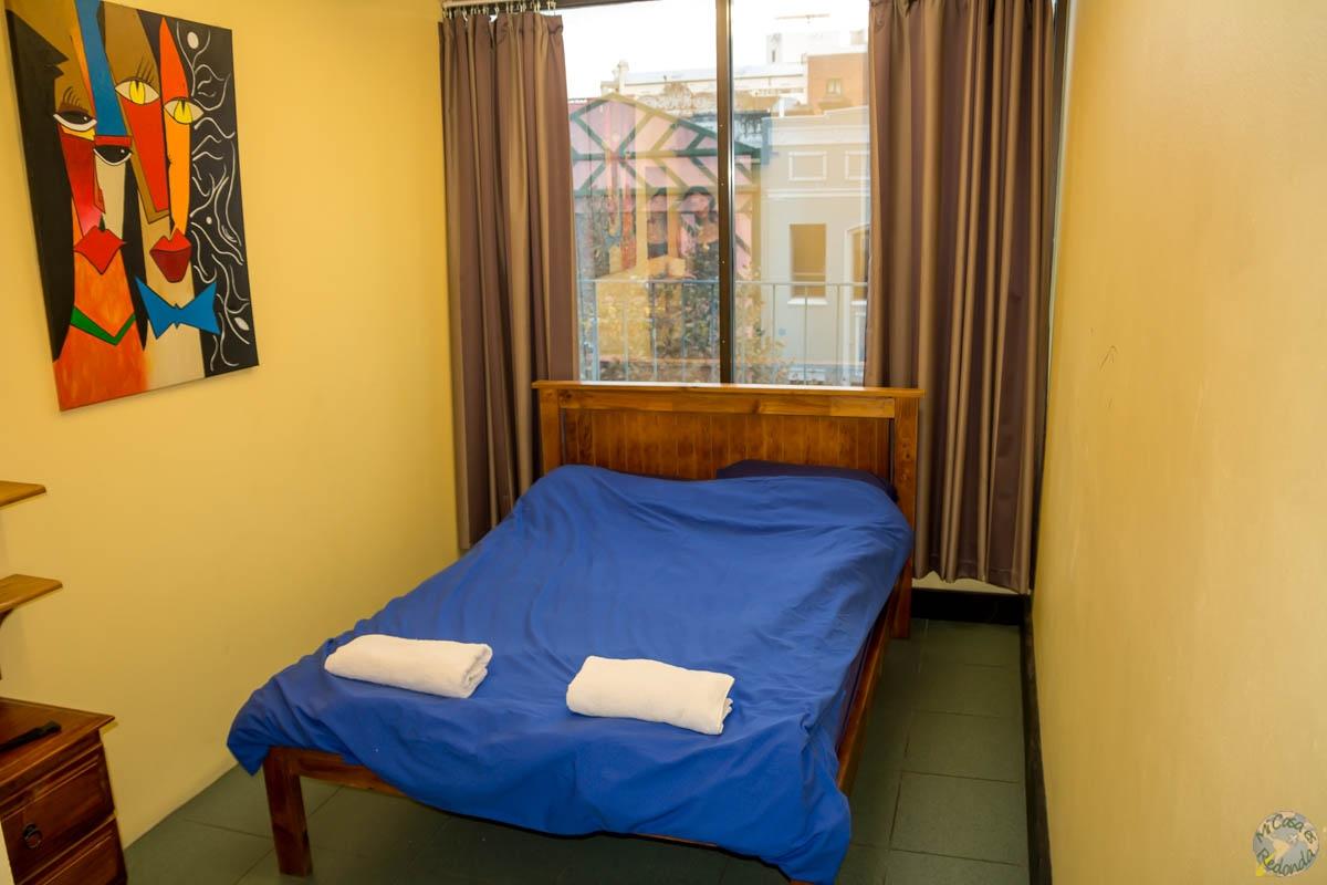 Habitación doble del Jackaroo Backpacker Hostel, Sydney