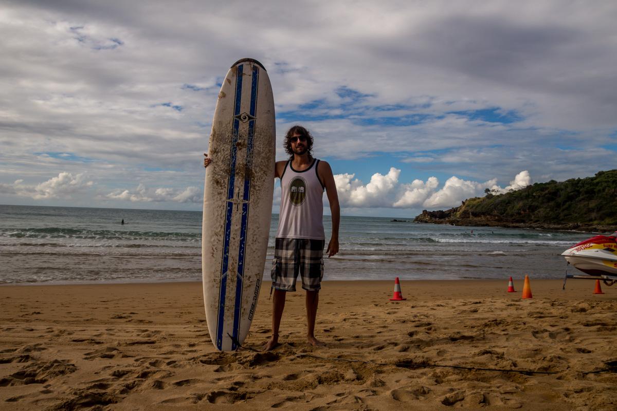 Volviendo al surf! Agnes Water
