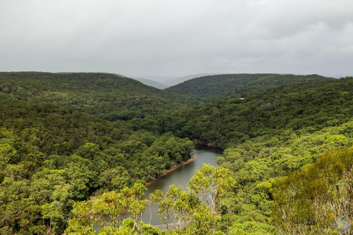 Mirador en el Royal National Park