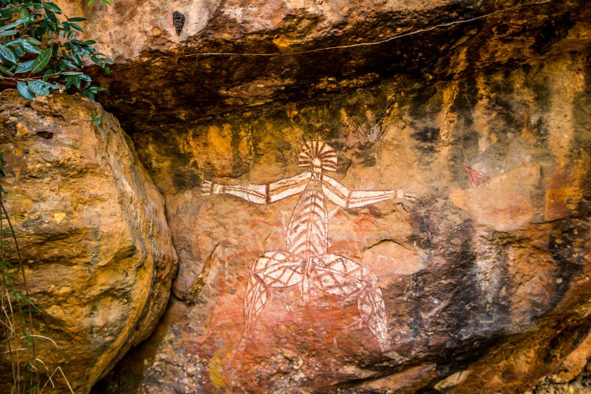 Más pinturas aborigenes, Kakadu
