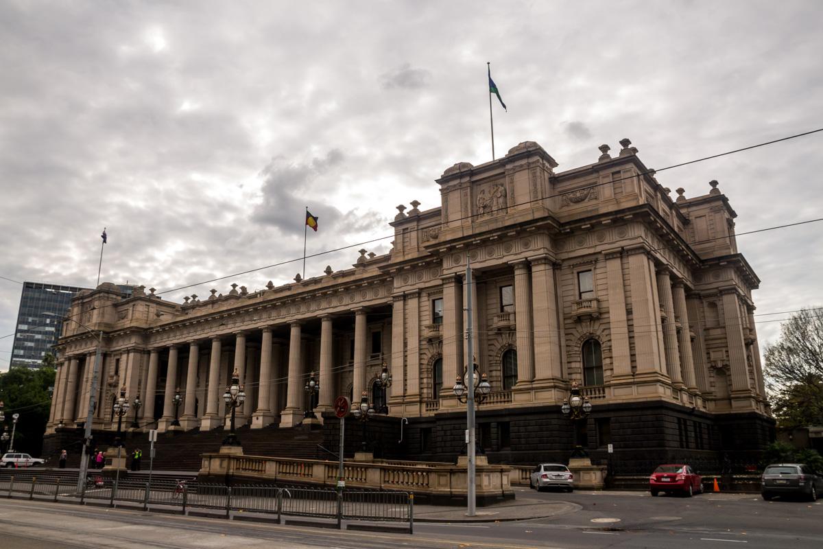 El parlamento, Melbourne