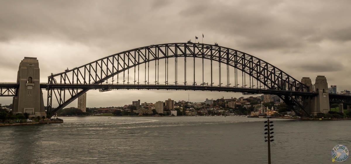 Se nos nubla en el puente de la Bahía de Sydney