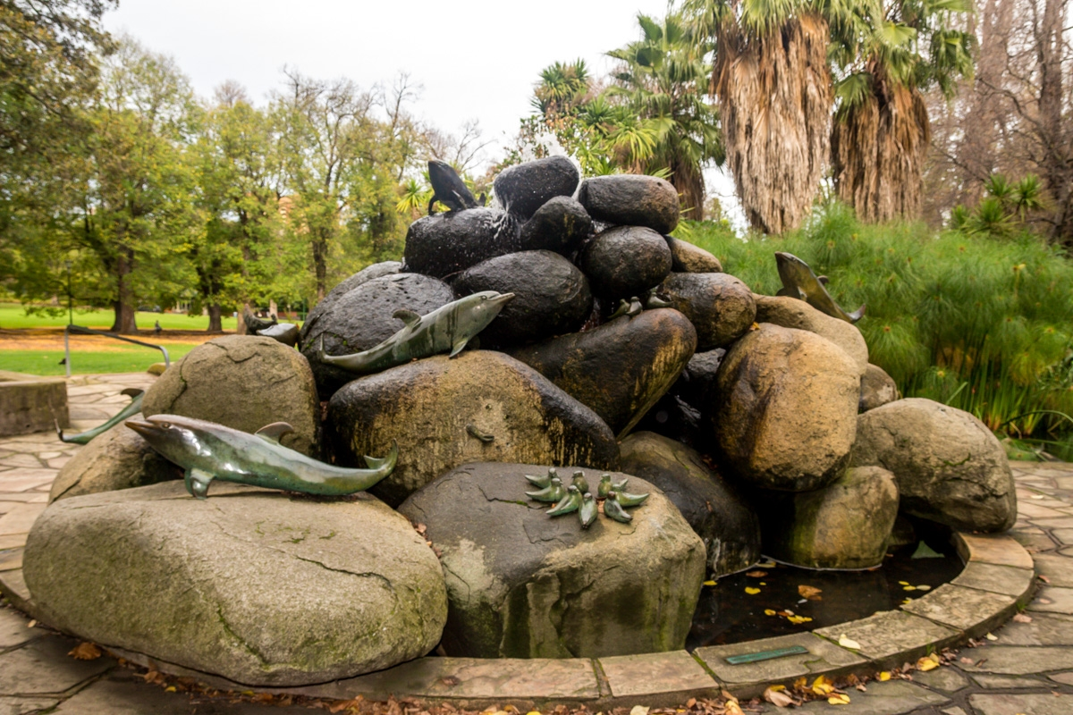 Fitzroy Gardens, Melbourne