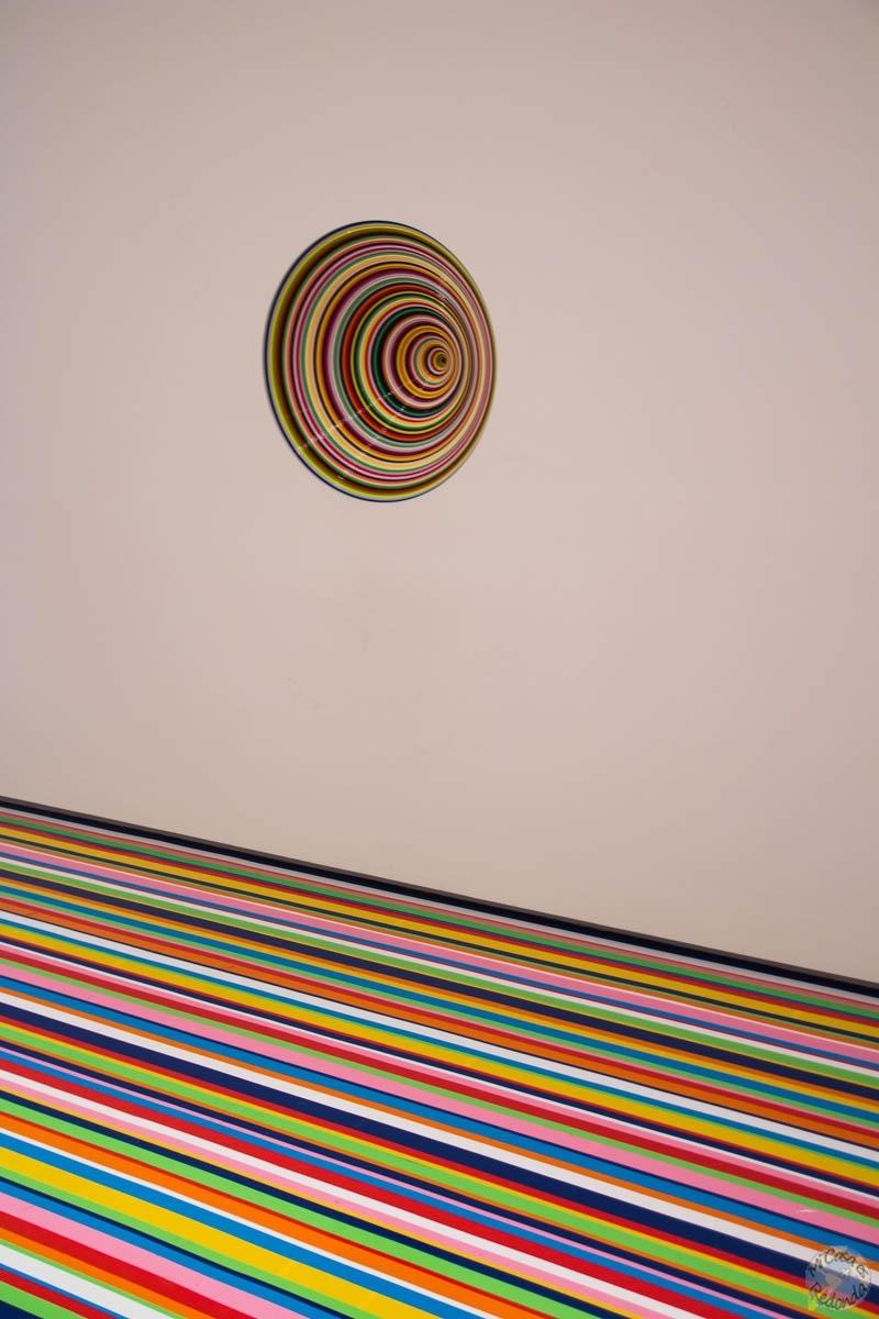 Vortex, en el Museo de Arte Contemporáneo de Sydney (yo personalmente no lo entiendo)