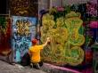 Hosier Lane, el callejón de los graffitis. Melbourne