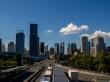 Brisbane skyline desde el sur