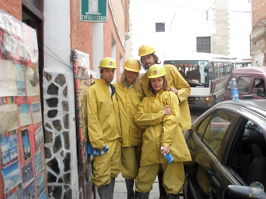 A las minas de Potosí