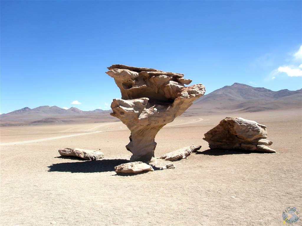 El árbol de piedra, Uyuni