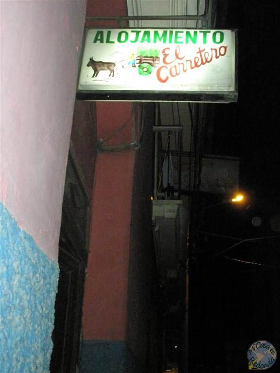 Hostal el Carretero, mi alojamiento en La Paz