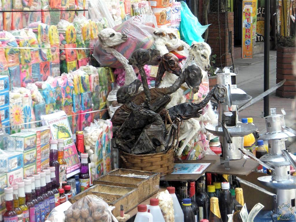 Mercado de Brujería, la Paz