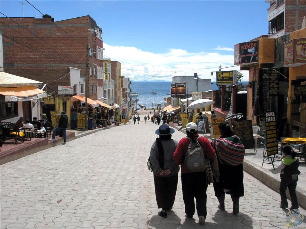 Copacabana, Titicaca al fondo