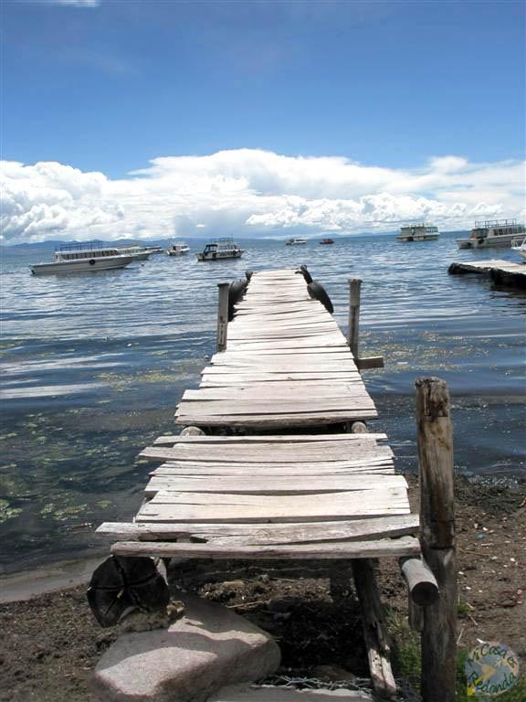 Embarcadero en el Titicaca