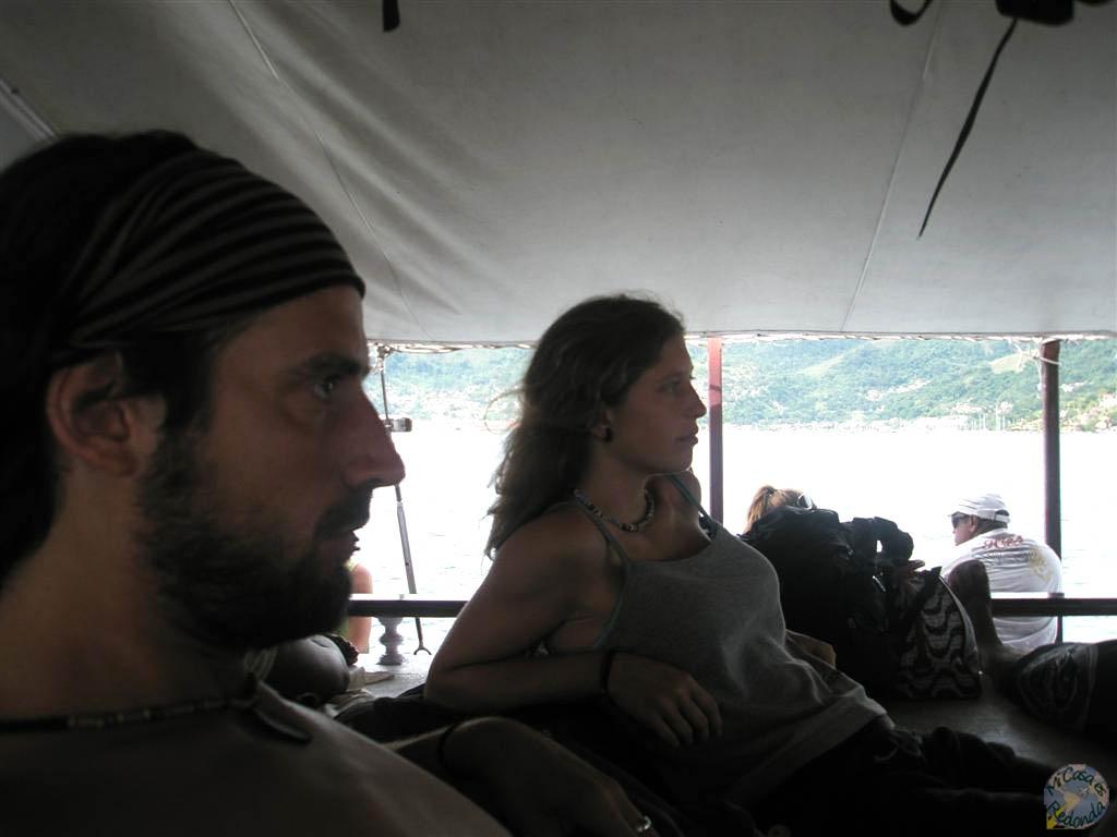 Yendo a Ilha Grande con Zio