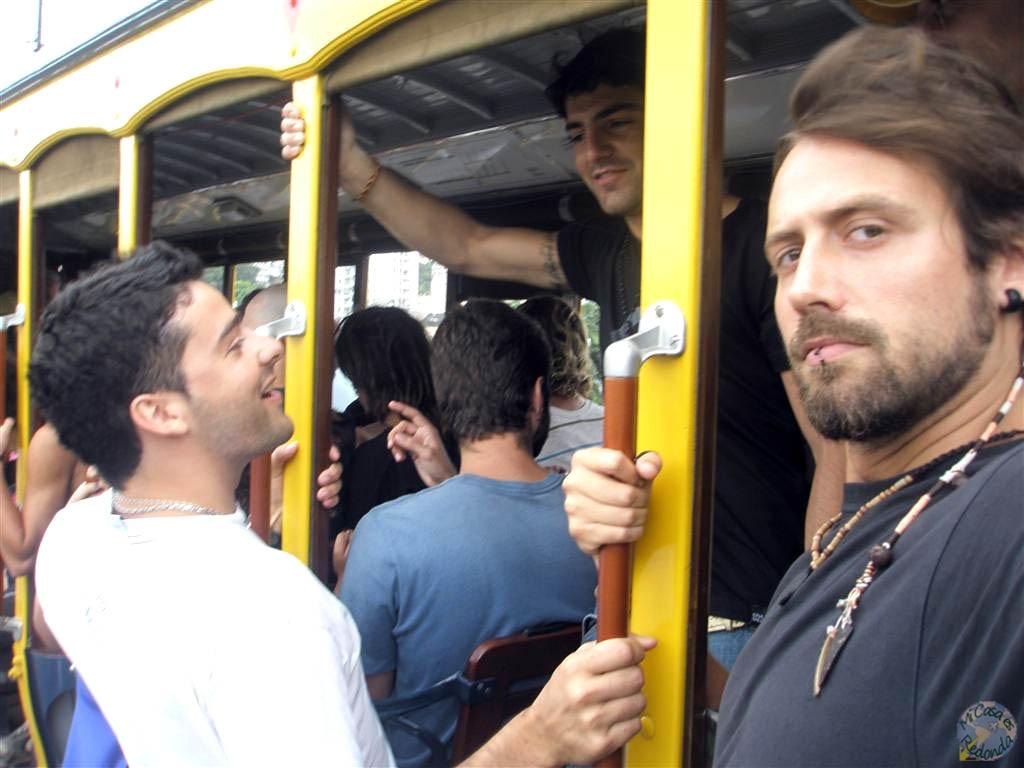 El el bondinho con los argentinos, Rio de Janeiro