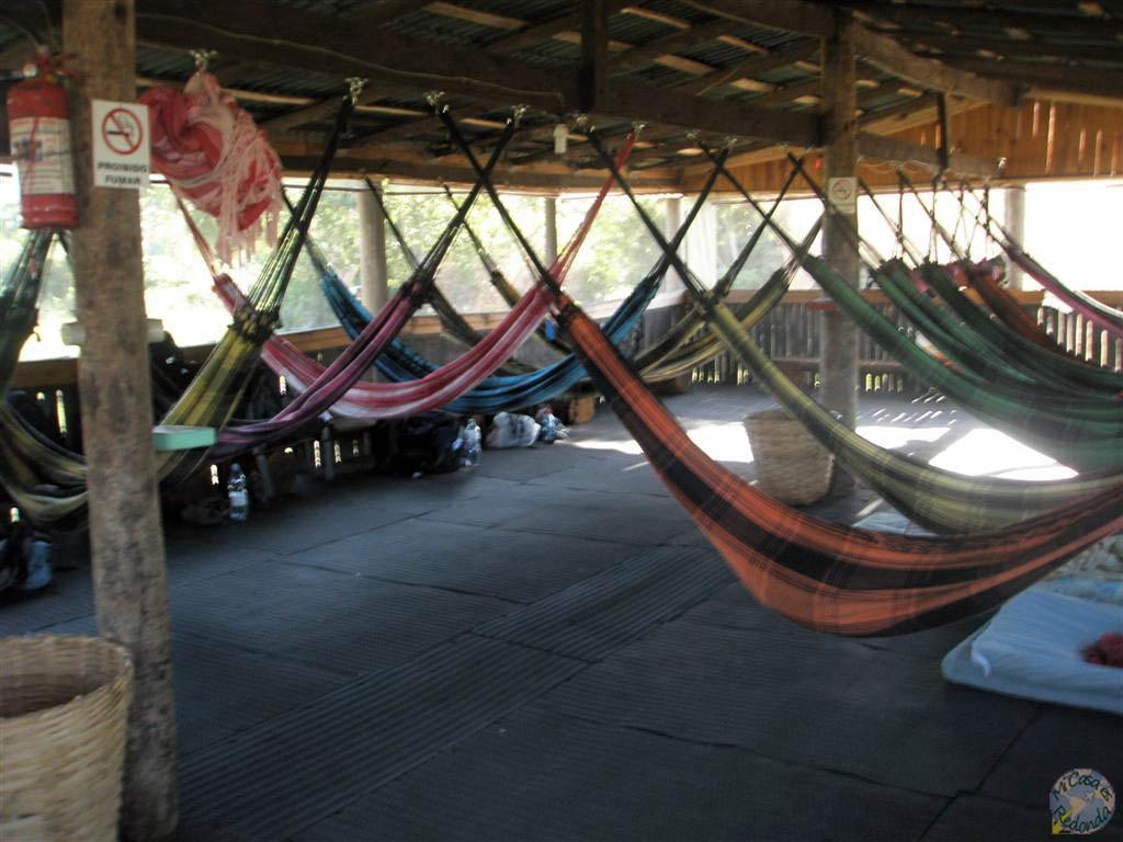 Mi alojamiento en el Pantanal