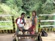 Bajando a la mina, Mathieu y yo
