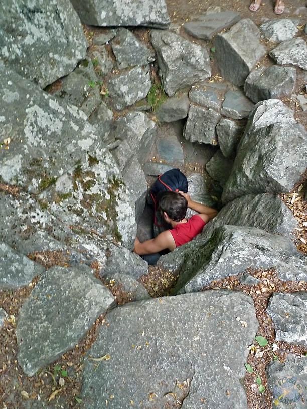 """Y ahí la """"cueva"""""""