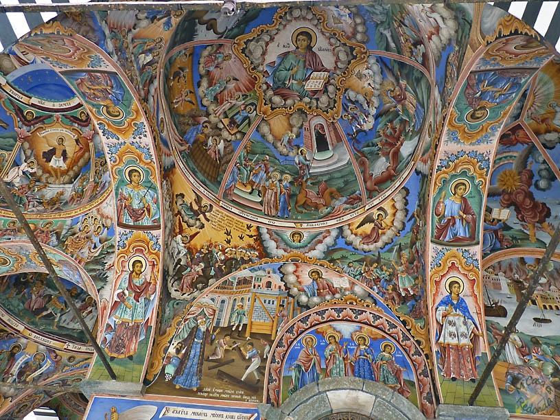 Arte en los techos