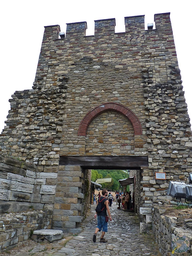 Entrada a la fortaleza de Tsarevets