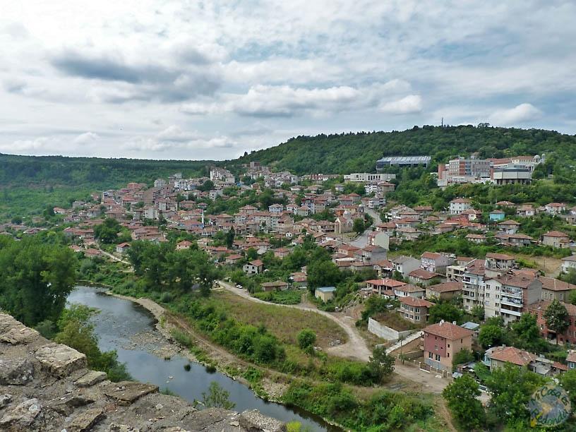Veliko Tarnovo desde la fortaleza