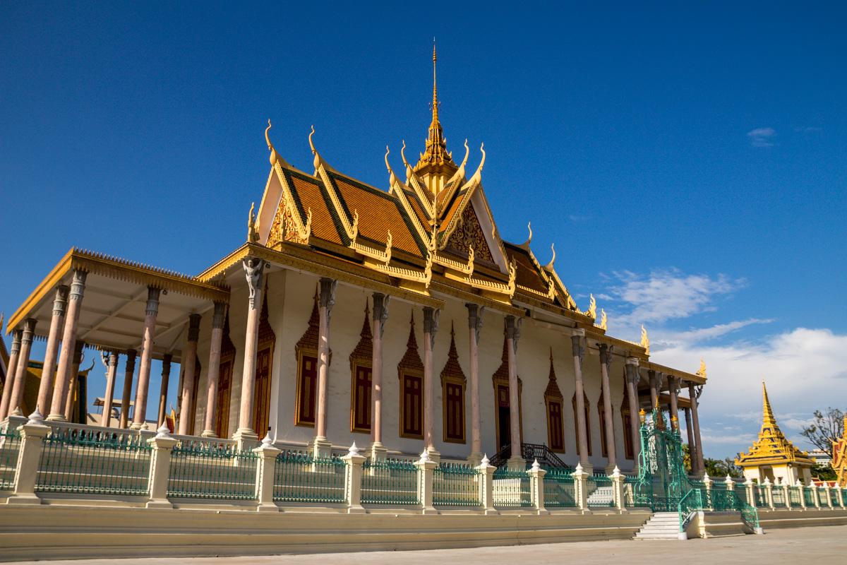 La pagoda de plata, Palacio Real de Phmom Penh