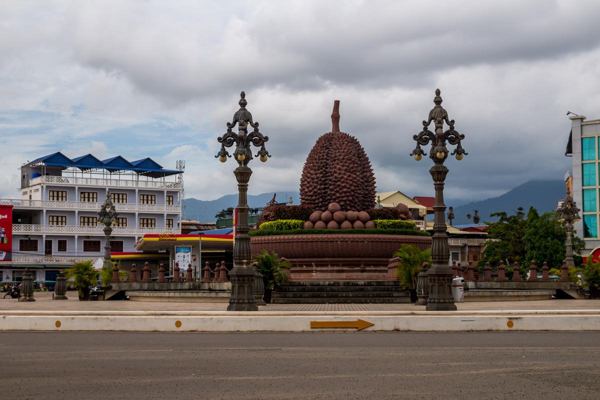 La rotonda del Durian, Kampot