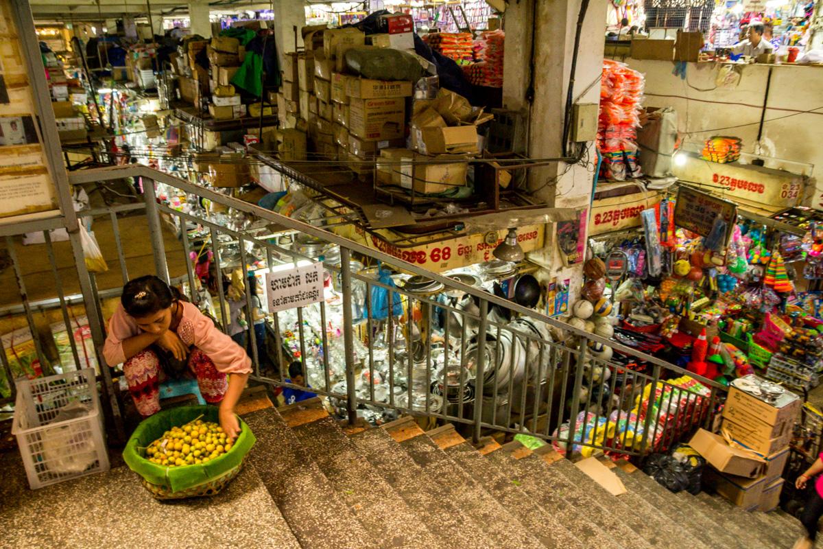 Mercado de Orussey, Phnom Penh