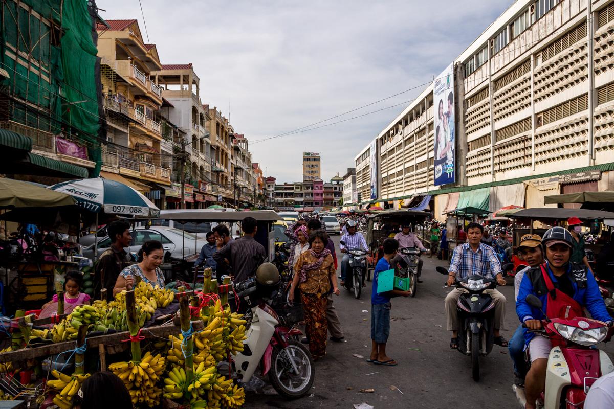 Calles de Phnom Penh