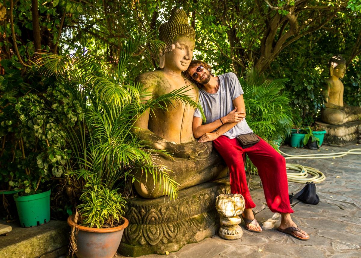 A la vera del Buda
