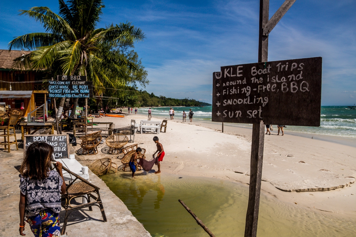 Vida local en Koh Rong