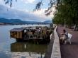 Paseo junto al río en Kampot