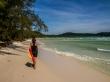 Paseando por las playas de la isla, Koh Rong